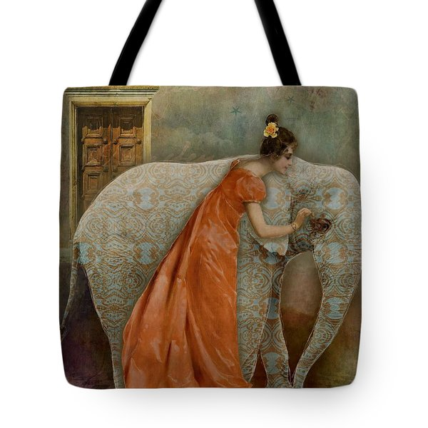 If Elephants Were Painted Tote Bag