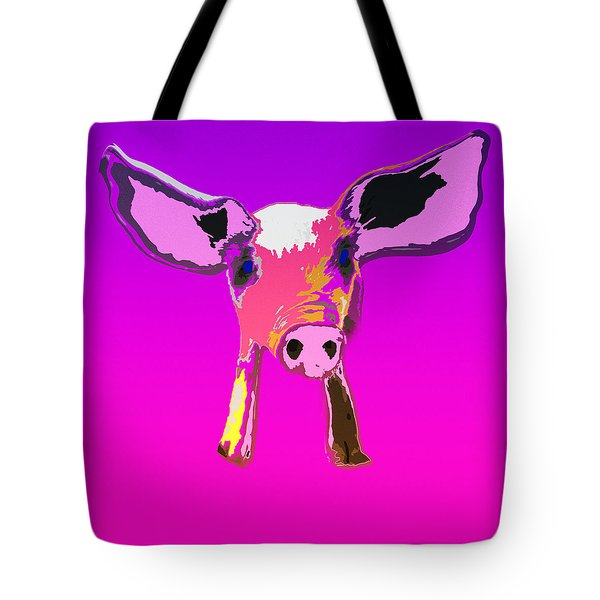 If Pigs Could Fly Tote Bag by James Bethanis