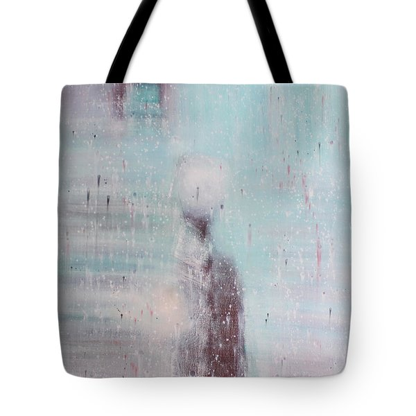 If The Human Society  Still Needs Painting Tote Bag by Min Zou