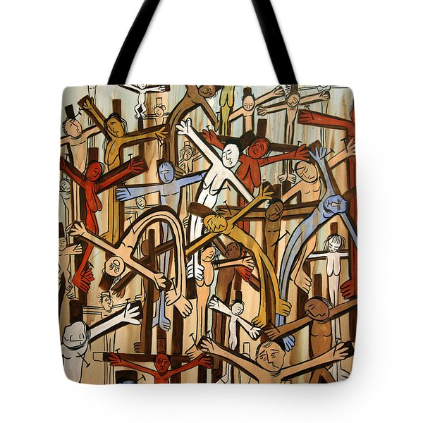 If There Was No Savior Tote Bag by Anthony Falbo