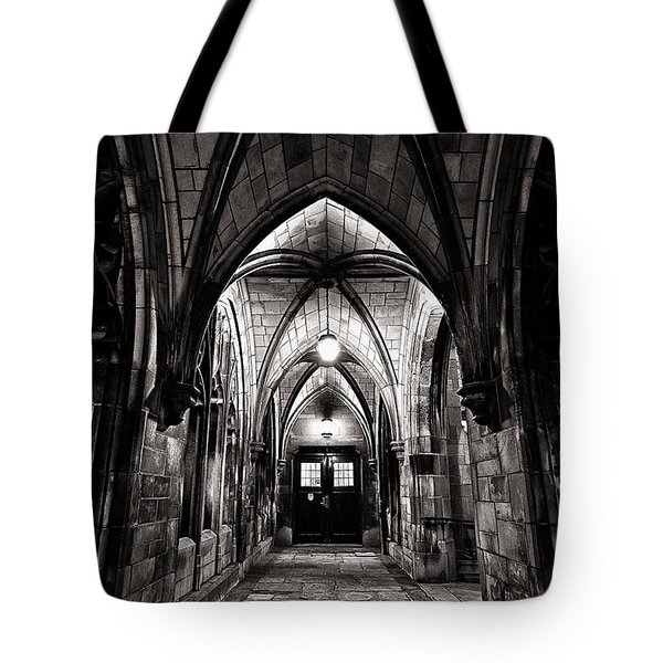 If These Walls Could Talk Tote Bag by CJ Schmit