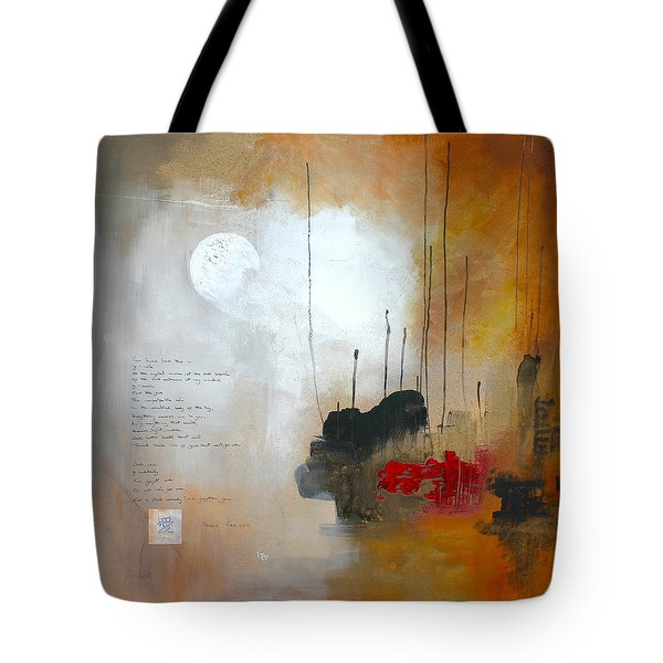 If You Forget Me Tote Bag by Vital Germaine