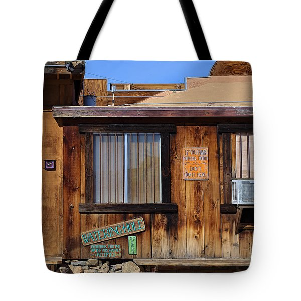 Tote Bag featuring the photograph If You Have Nothing To Do by Viktor Savchenko