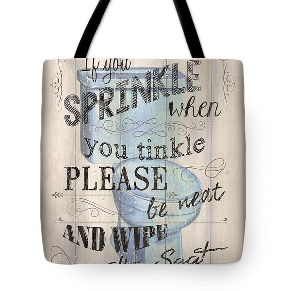 If You Sprinkle Tote Bag