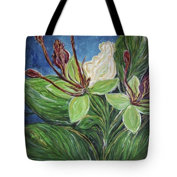 Ifit Flower Guam Tote Bag