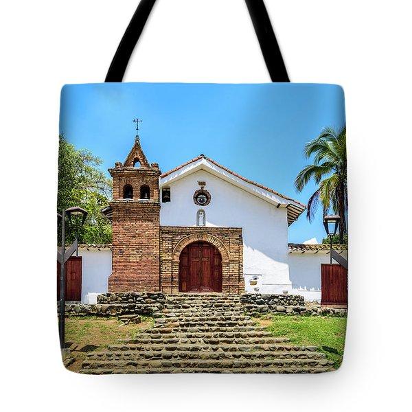 Iglesia De San Antonio Tote Bag