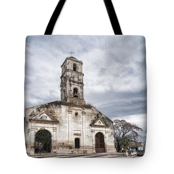 Iglesia De Santa Ana Tote Bag