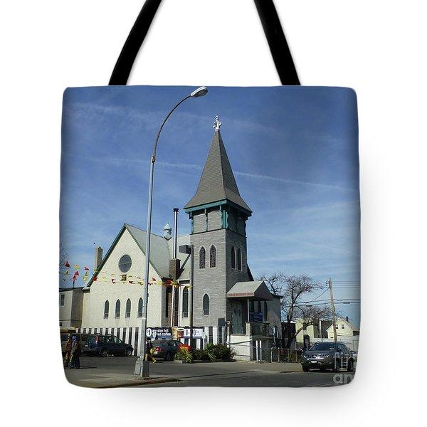 Iglesia Metodista Unida Church Tote Bag