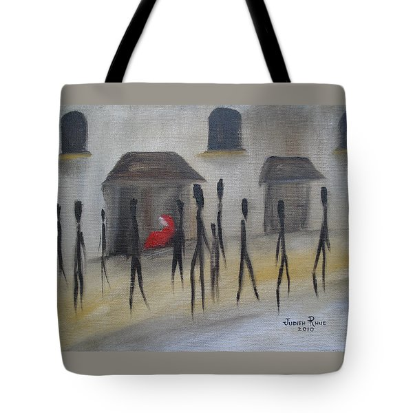 Ignoring The Homeless Tote Bag