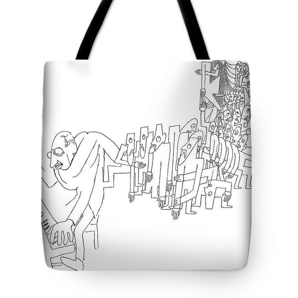 Igor Stravinsky (1882-1971) Tote Bag by Granger