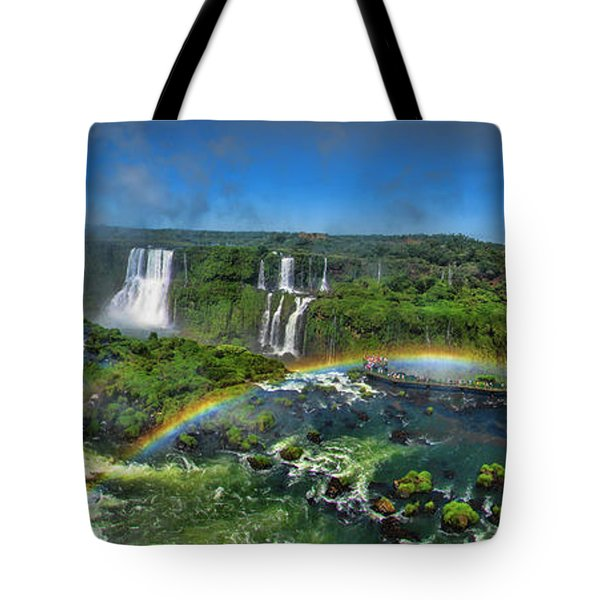Iguazu Panorama Tote Bag