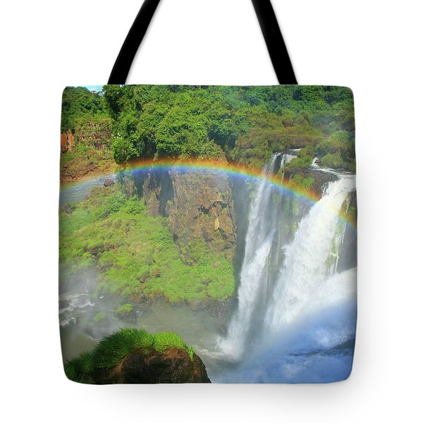 Iguazu Rainbow Tote Bag