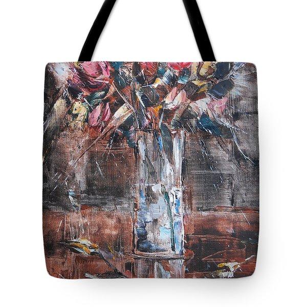 Ikebana Iv Tote Bag