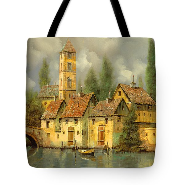 Il Campanile Di Villa Giusti Tote Bag