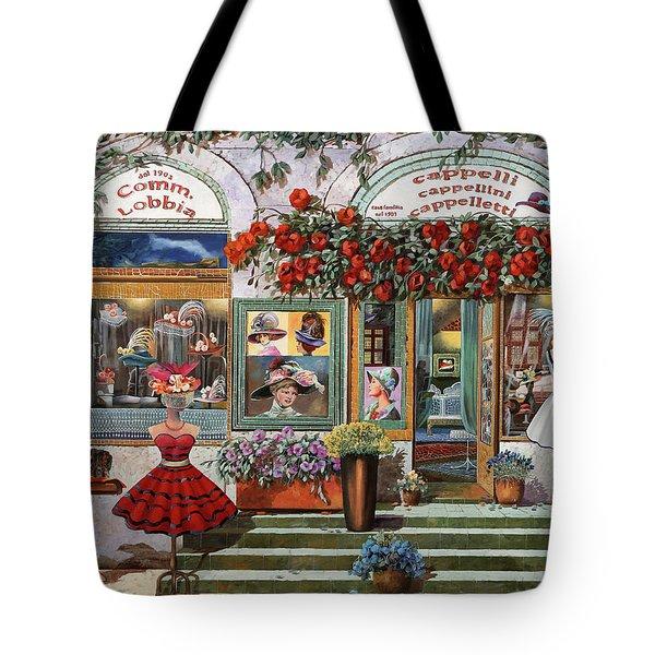 il Cappellaio Tote Bag