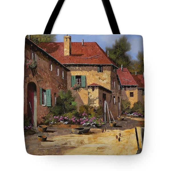 Il Carretto Tote Bag by Guido Borelli