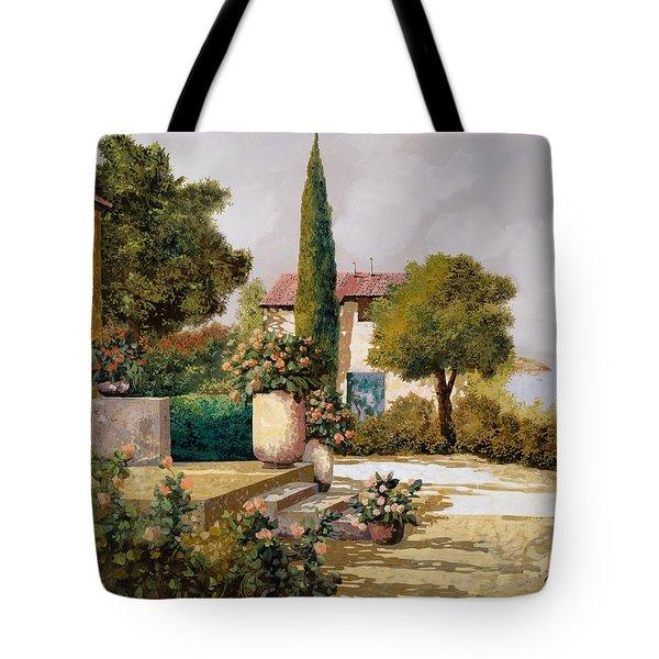 Il Cipresso Tote Bag by Guido Borelli
