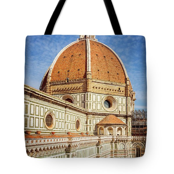 Tote Bag featuring the photograph Il Duomo Florence Italy by Joan Carroll