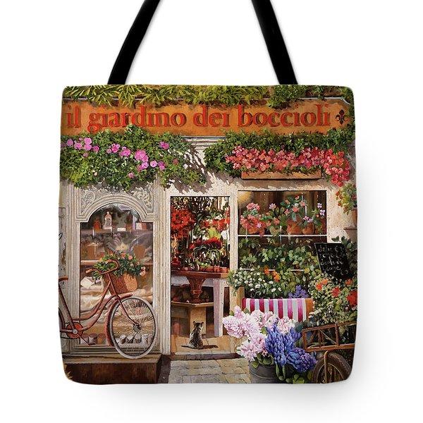 Il Giardino Dei Boccioli Tote Bag
