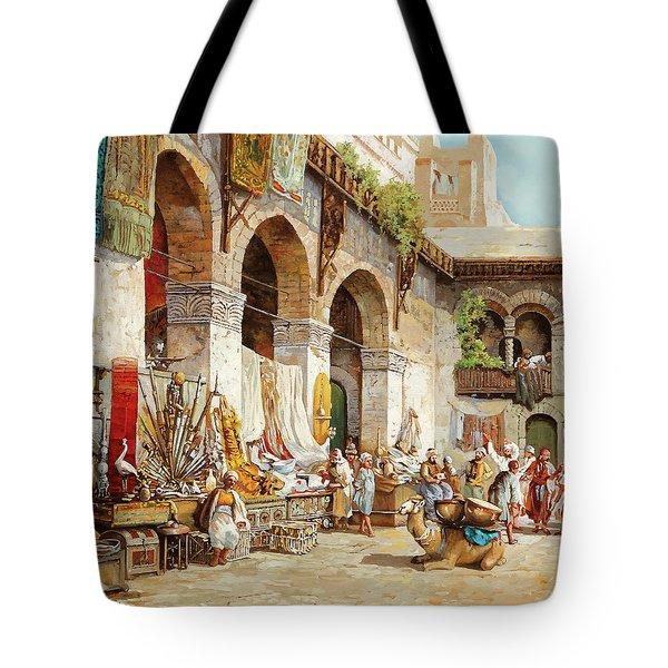 Il Mercato Arabo Tote Bag