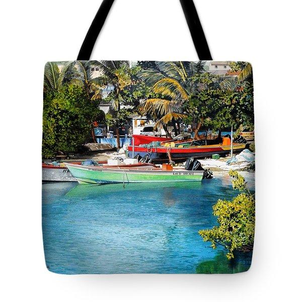 Iles Des Saintes Tote Bag