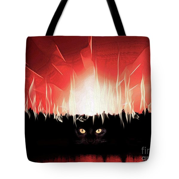 I'll Be Watching You Tote Bag