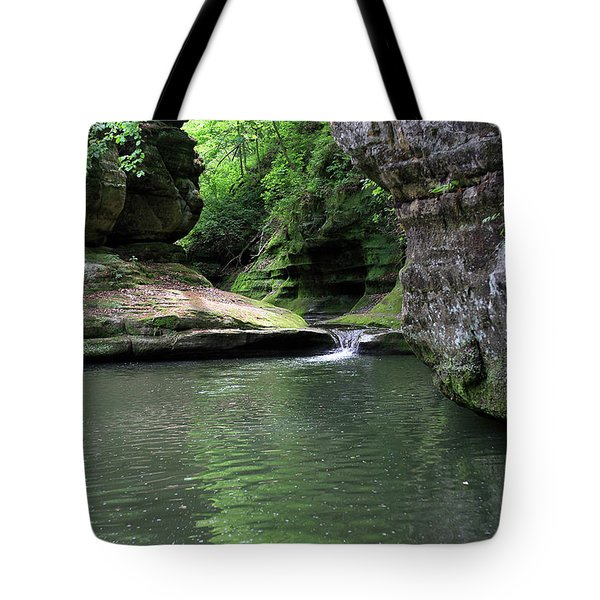 Illinois Canyon Summer Tote Bag