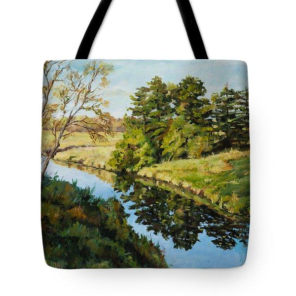 Illinois Countryside  Tote Bag