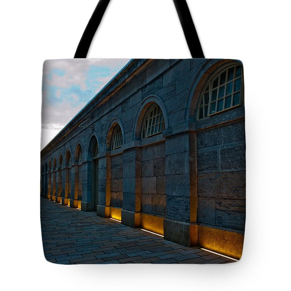 Illuminated Arches Tote Bag by Helen Northcott