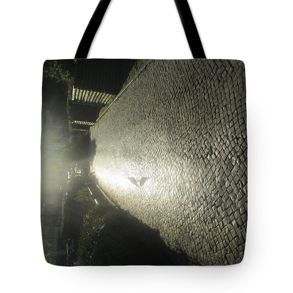 Illuminated Inverted Path Tote Bag