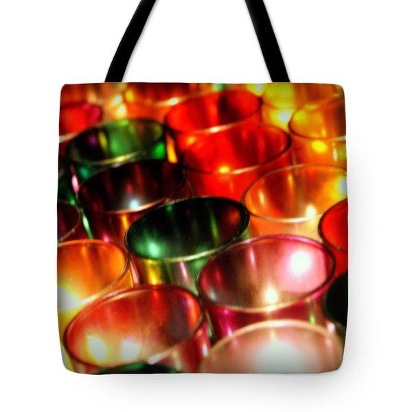 Illuminated Prayers Tote Bag
