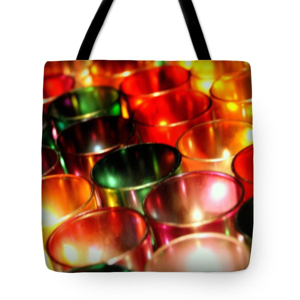 Illuminated Prayers Tote Bag