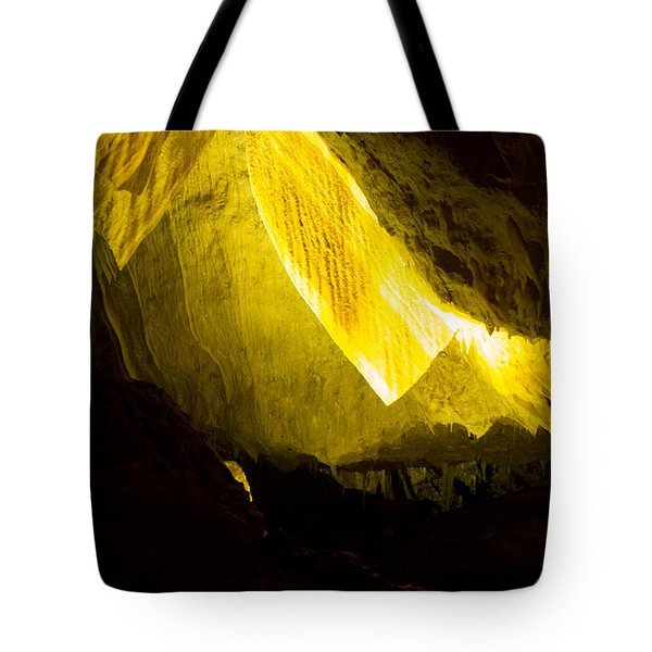 Tote Bag featuring the photograph Illuminated Shawl by Angela DeFrias