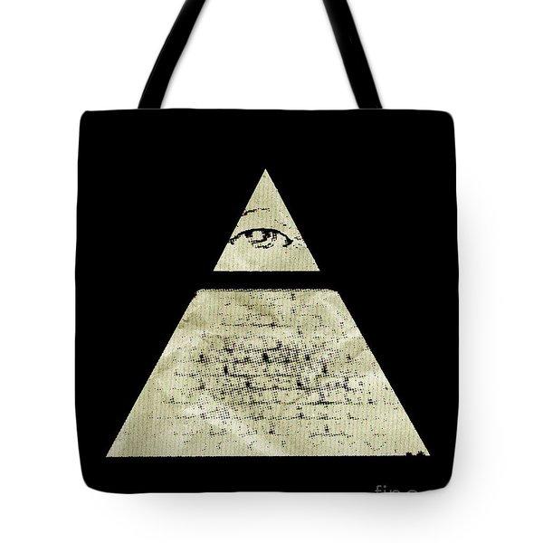 Illuminati Symbol By Raphael Terra Tote Bag