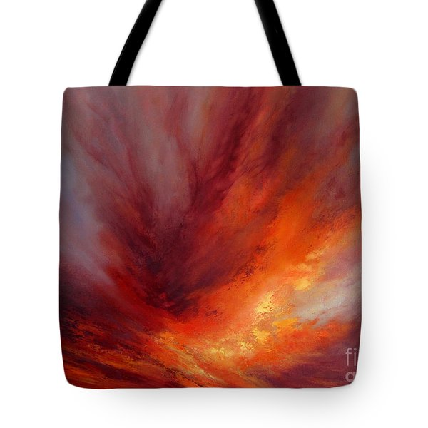 Illumination Tote Bag by Valerie Travers