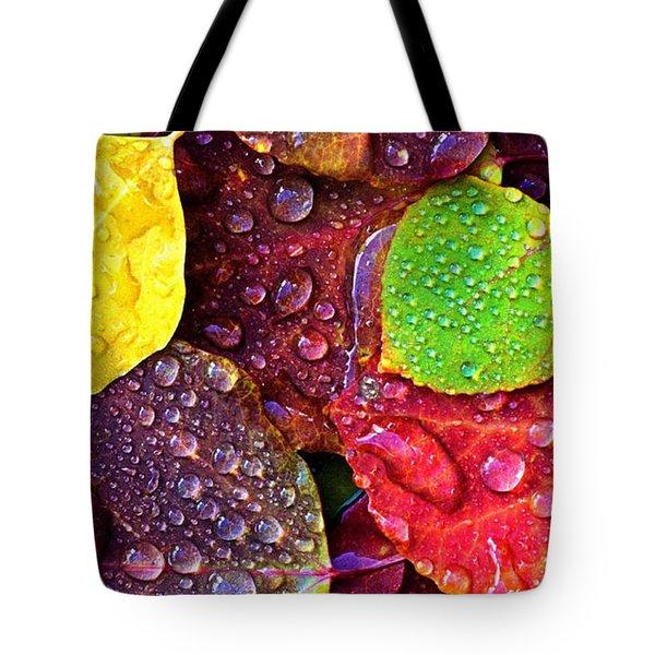Illuminous Colour Tote Bag by Sheila Mcdonald