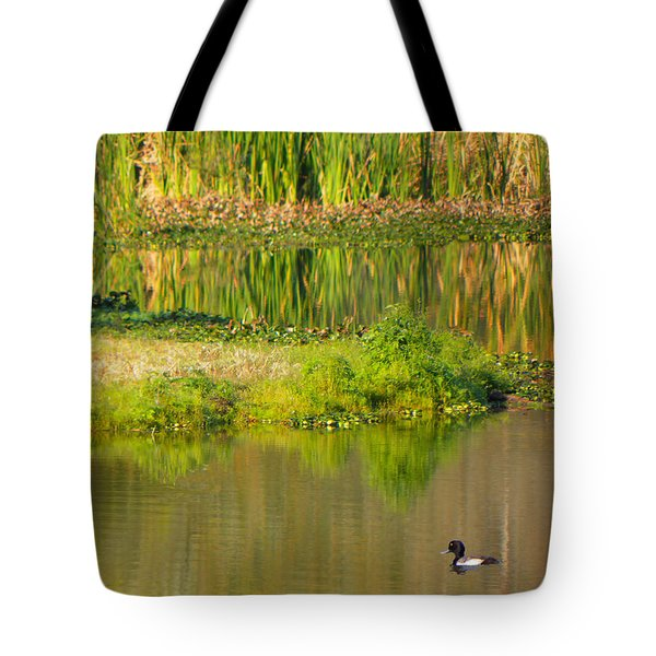 Tote Bag featuring the photograph Illusion Confusion by Rosalie Scanlon