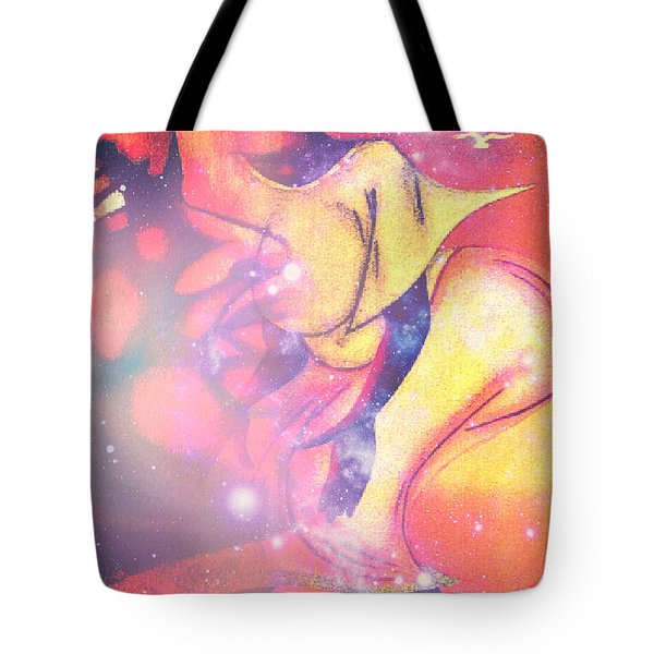 Illusion Of A Man Tote Bag by Fania Simon