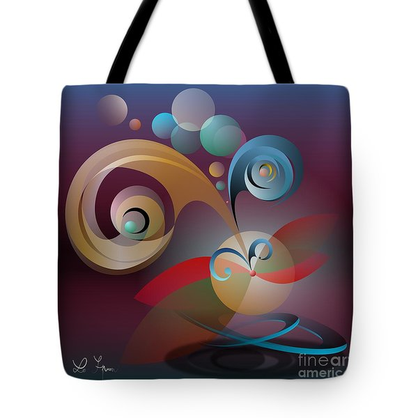 Illusion Of Joy Tote Bag