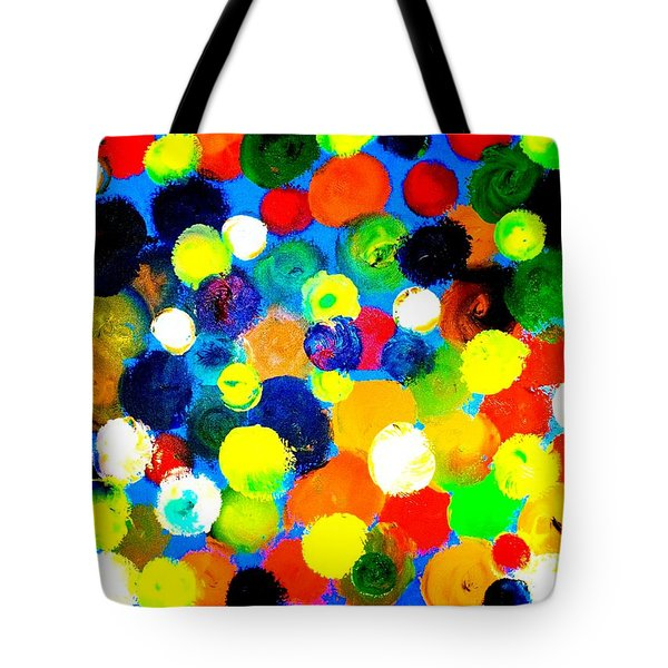 Tote Bag featuring the painting Illusion by Piety Dsilva