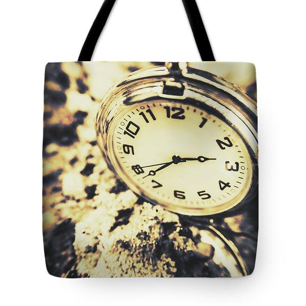 Illusive Time Tote Bag