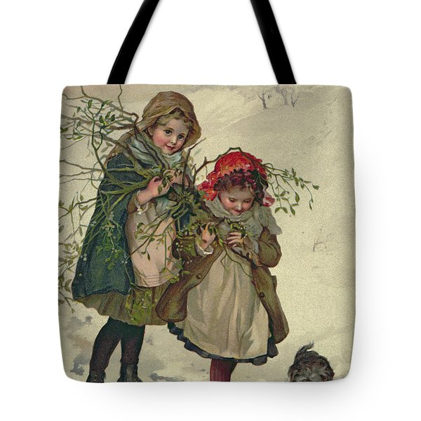 Illustration From Christmas Tree Fairy Tote Bag by Lizzie Mack