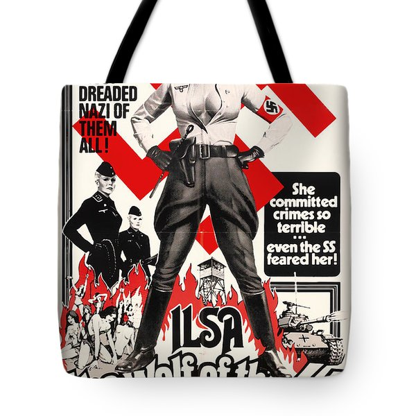 Ilsa - She Wolf Of The Ss 1975 Tote Bag