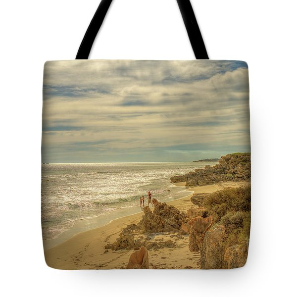 Tote Bag featuring the photograph Iluka, Western Australia by Elaine Teague
