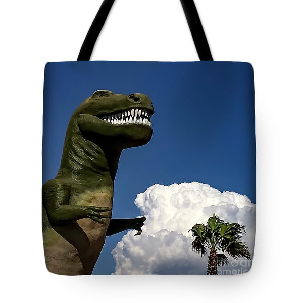 I'm A Nervous Rex Tote Bag