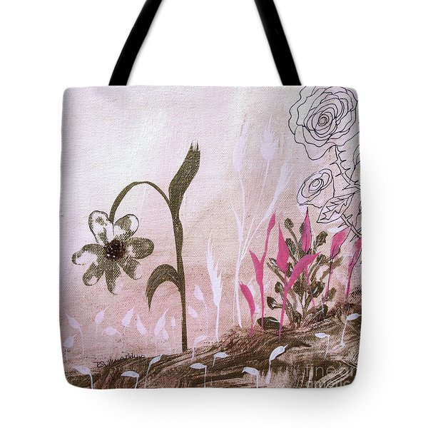Tote Bag featuring the painting I'm A Survivor by Robin Maria Pedrero
