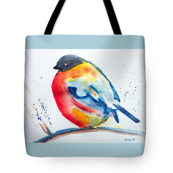 I'm Cold Tote Bag by Jasna Dragun