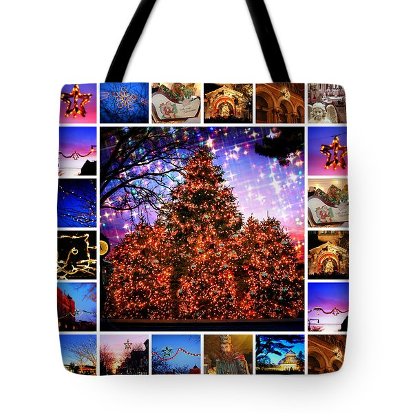 I'm Dreaming Of A Bronx Christmas Tote Bag by Aurelio Zucco and Augusto Zucco
