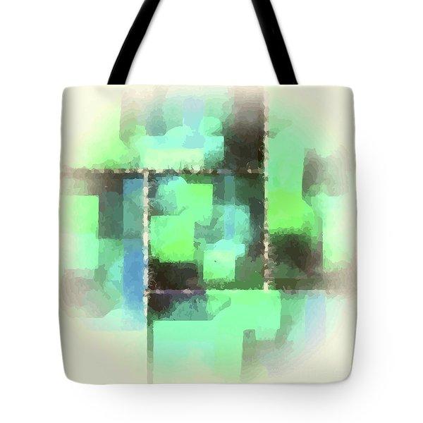 I'm Envious Abstract Tote Bag