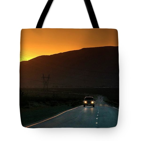 Tote Bag featuring the photograph I'm Going Home Ten Years After by Peter Thoeny